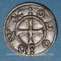 Monnaies Berry. Seigneurie de Déols. Monnayage anonyme (1045-1140). Denier