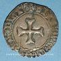 Monnaies Bretagne. Jean V (1399-1442). Blanc à la targe. Redon (?)