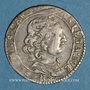 Monnaies Comtat Venaissin. Alexandre VIII (1655-1667). Au nom de Flavio Chigi. Luigino 1662. Avignon