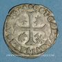 Monnaies Comtat Venaissin. Clément VIII (1592-1605). Au nom d'Octave d'Aquaviva. Douzain 1594. Avignon