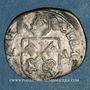 Monnaies Comtat Venaissin. Clément VIII (1592-1605). Au nom de Silvio Savelli. Douzain 1593 (?). Avignon