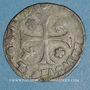 Monnaies Comtat Venaissin. Clément VIII (1592-1605). Au nom de Silvio Savelli. Douzain (1593 ). Avignon