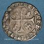 Monnaies Comtat Venaissin. Clément VIII (1592-1605). Monnayage au nom d'Octave d'Aquaviva. Douzain 1594