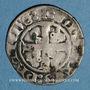 Monnaies Comtat Venaissin. Grégoire XI (1370-1378). Quart  de gros