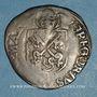 Monnaies Comtat Venaissin. Grégoire XIII (1572-85). Au nom du légat Charles de Bourbon. Douzain