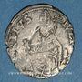 Monnaies Comtat Venaissin. Jules III (1550-1555). Monnayage au nom d'Alexandre Farnèse. 1/2 gros. Avignon