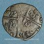 Monnaies Comtat Venaissin. Pie V (1566-72). Au nom de Charles de Bourbon. Demi-gros. Avignon