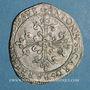 Monnaies Comtat Venaissin. Urbain VIII (1623-1644). Au nom de Antoine Barberini. Demi-franc 1637. Avignon