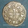 Monnaies Comté d'Angoulême. Monnayage anonyme au nom de Louis (12e - 13e siècle). Denier