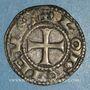 Monnaies Comté d'Angoulême. Monnayage anonyme au nom de Louis (12e siècle). Denier