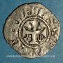Monnaies Comté d'Anjou. Foulques IV (1069-1109) ou Foulques V (1109-1129). Denier