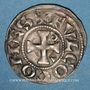 Monnaies Comté d'Anjou. Foulques V (1109-1129) et Geoffroi IV (1129-1151). Denier