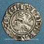 Monnaies Comté de Provence. Charles I d'Anjou (1246-1285). Denier provençal coronat. Saint-Rémy (1266-1277)
