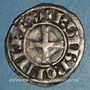 Monnaies Comté de Provence. Charles II d'Anjou (1285-1309). Denier tournois