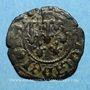 Monnaies Comté de Provence. Jeanne de Naples (1343-1382). Liard