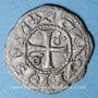 Monnaies Comté du Roussillon. Gausfred III (1115-1164). Denier