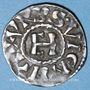 Monnaies Dauphiné. Archevêché de Vienne. Henri le Noir, roi de Bourgogne (1038-1056). Denier