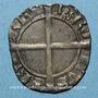 Monnaies Dauphiné. Charles I (1364-1380), dauphin et roi de France. Liard dentillé. Point 2e, Romans