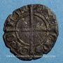 Monnaies Dauphiné. Évêché de Grenoble. L'évêque & le dauphin Humbert Ier (1281-1307). Denier