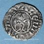 Monnaies Dauphiné. Evêché de Valence. Monnayage anonyme (XIIe - XIIIe siècle). Obole