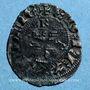 Monnaies Duché d'Aquitaine. Edouard III (1327-1362). Denier, Bordeaux (?)