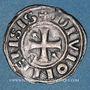 Monnaies Duché de Bourgogne. Eudes II (1143-1162). Denier. Dijon