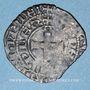 Monnaies Duché de Bourgogne. Eudes IV (1315-1349). Maille noire double au petit écu de Bourgogne