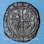 Monnaies Duché de Bourgogne. Jean sans Peur (1404-1419). Grand blanc. Saint-Laurent, à partir de 1418