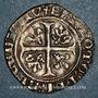 Monnaies Duché de Bourgogne. Jean sans Peur (1404-1419). Grand blanc. Saint-Laurent