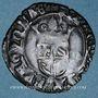 Monnaies Duché de Bourgogne. Jean sans Peur (1404-1419). Gros. Auxonne