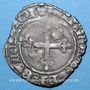 Monnaies Duché de Bourgogne. Jean sans Peur (1404-1419). Gros. Cuisery