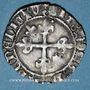 Monnaies Duché de Bourgogne. Philippe le Bon (1419-1467). Gros. Auxonne, juillet 1420 à février 1421