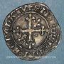 Monnaies Duché de Bourgogne. Philippe le Bon (1419-1467). Gros. Cuisery, avril-mai 1420