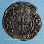 Monnaies Duché de France. Comté de Dreux. Hugues Bardoul (1035-1055). Denier