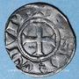 Monnaies Franche Comté. Archevêché de Besançon - Monnayage anonyme (13e -14e s). Denier estevenant, 11e type