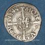 Monnaies Franche Comté. Cité de Besançon. Blanc (= 1/2 carolus) 1544