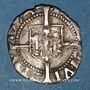 Monnaies Franche Comté. Cité de Besançon. Blanc (= 1/2 carolus) 1574
