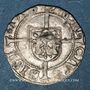 Monnaies Franche Comté. Cité de Besançon. Blanc (= 1/2 carolus) 1575
