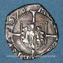 Monnaies Franche Comté. Cité de Besançon. Blanc (= 1/2 carolus) 1578