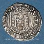 Monnaies Franche Comté. Cité de Besançon. Carolus 1580