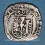 Monnaies Franche Comté. Cité de Besançon. Carolus 1593