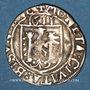 Monnaies Franche Comté. Cité de Besançon. Carolus 1611