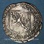Monnaies Franche Comté. Comté de Bourgogne. Philippe II (1556-1598). Carolus 1589. Dôle. Variante inédite !