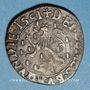 Monnaies Franche Comté. Comté de Bourgogne. Philippe II (1556-1598). Double denier, 1591. Dôle