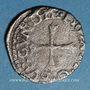 Monnaies Franche Comté. Comté de Bourgogne. Philippe II (1556-1598). Liard 1562 (= 1/2 blanc). Dôle