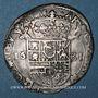 Monnaies Franche-Comté. Comté de Bourgogne. Philippe IV (1621-1665). 1/2 teston 1631/0, Dôle