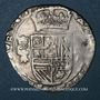 Monnaies Franche-Comté. Comté de Bourgogne. Philippe IV (1621-1665). 2 gros (=1/16 patagon) 1624. Dôle