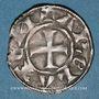 Monnaies Languedoc. Archevêché d'Arles. Monnayage anonyme (vers 1200-1240). Denier