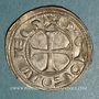 Monnaies Languedoc. Comté de Rodez. Hugues II (1154/57-1208/10). Denier