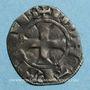 Monnaies Orléanais. Comté de Chartres. Charles de Valois (1293-1325). Denier